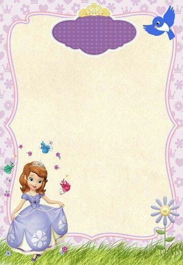 Tarjetas De Cumpleanos De Princesa Sofia Gratis 1