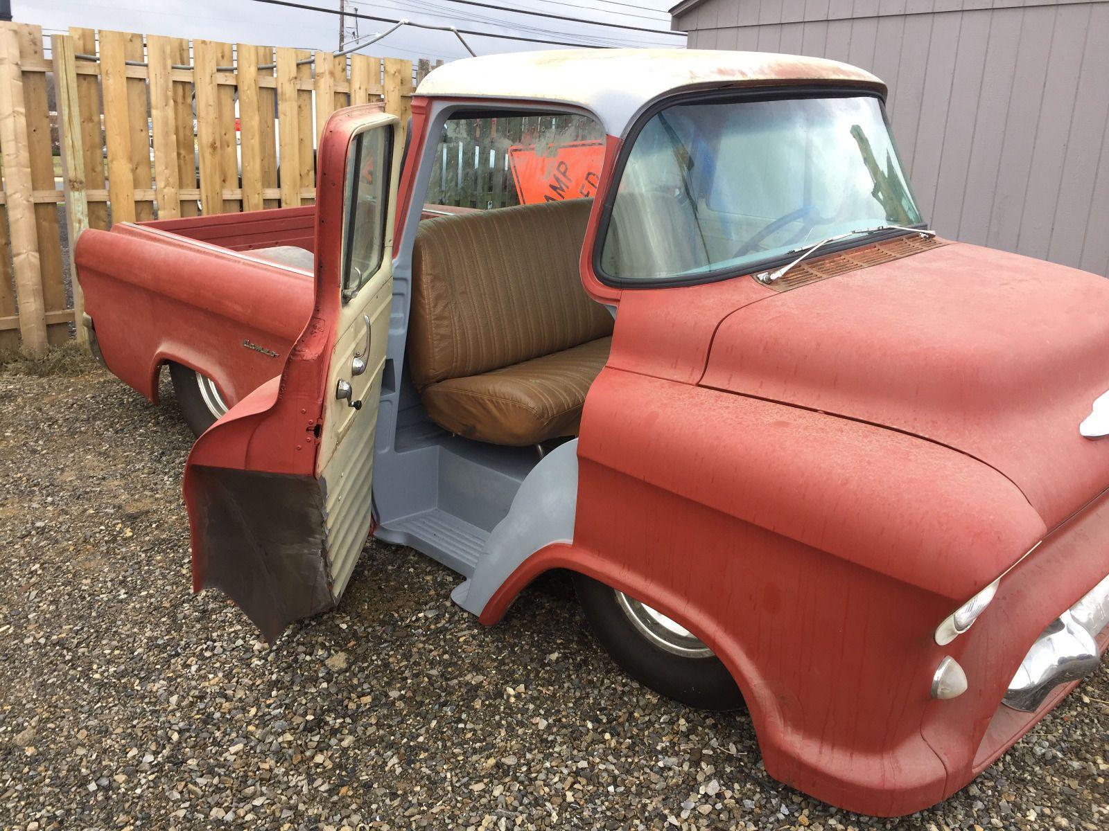 1956 Chevrolet Other Pickups Cameo In Ebay Motors Cars Amp Trucks Chevrolet Other Pickups Ebay Chevrolet Lowered Trucks Cool Trucks