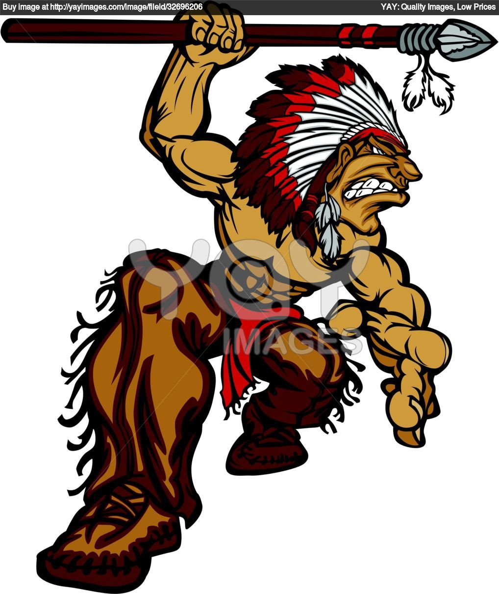 arrowhead mascots | Indian Spear Tattoos Pictures | indian ...