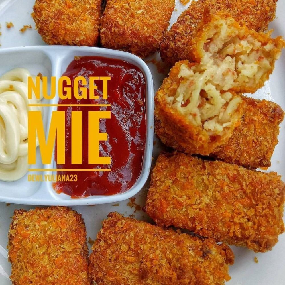 Resep Nugget Rumahan Instagram Di 2020 Resep Makanan Makanan Cepat Resep