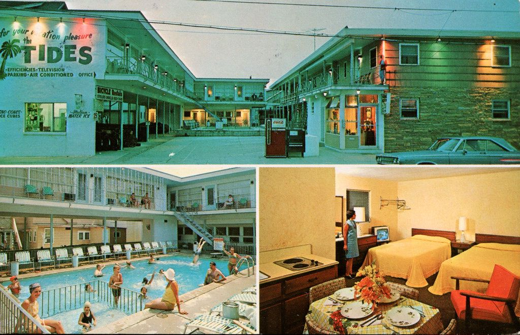 The Tides Apartments & Motel, Wildwood, New Jersey