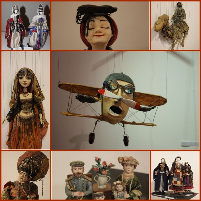 Slightly surreal puppets