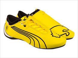 puma ferrari jaune