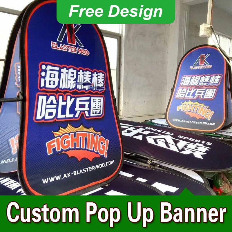 Pop Up Banner Frame Stands