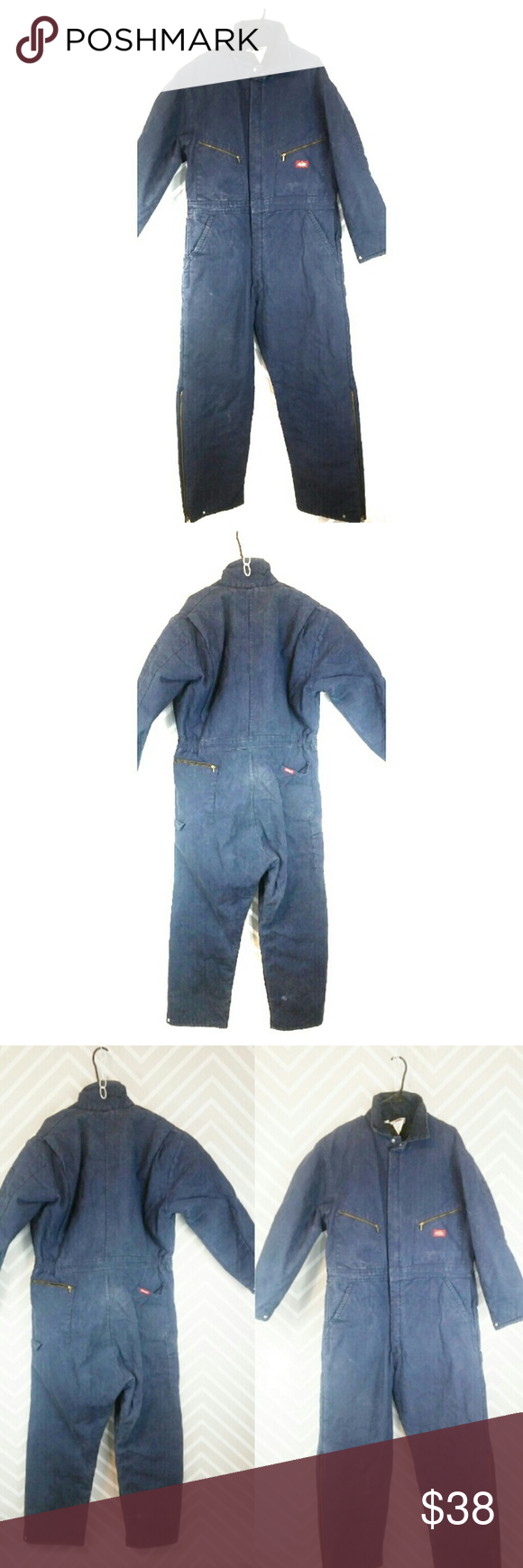 dickies insulated work coveralls unisex regular work on work coveralls id=85575