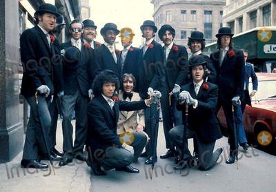 Shanana ( Rock Group ) in England with Keith Moon Photo By:Globe Photos, Inc