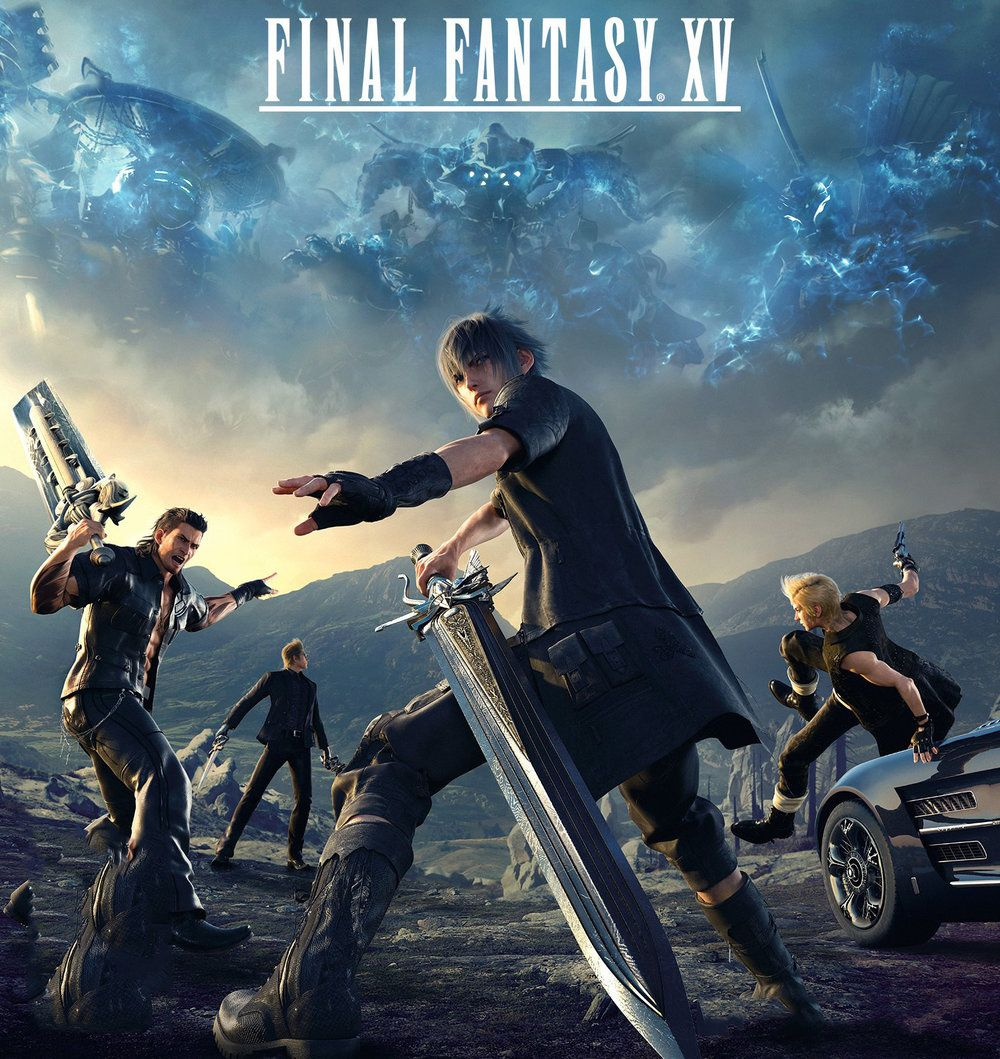 Final Fantasy XV is an open world action role
