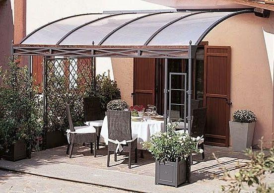 Patios techados una increible opcion casa 17 canopy - Toldos para patios interiores ...