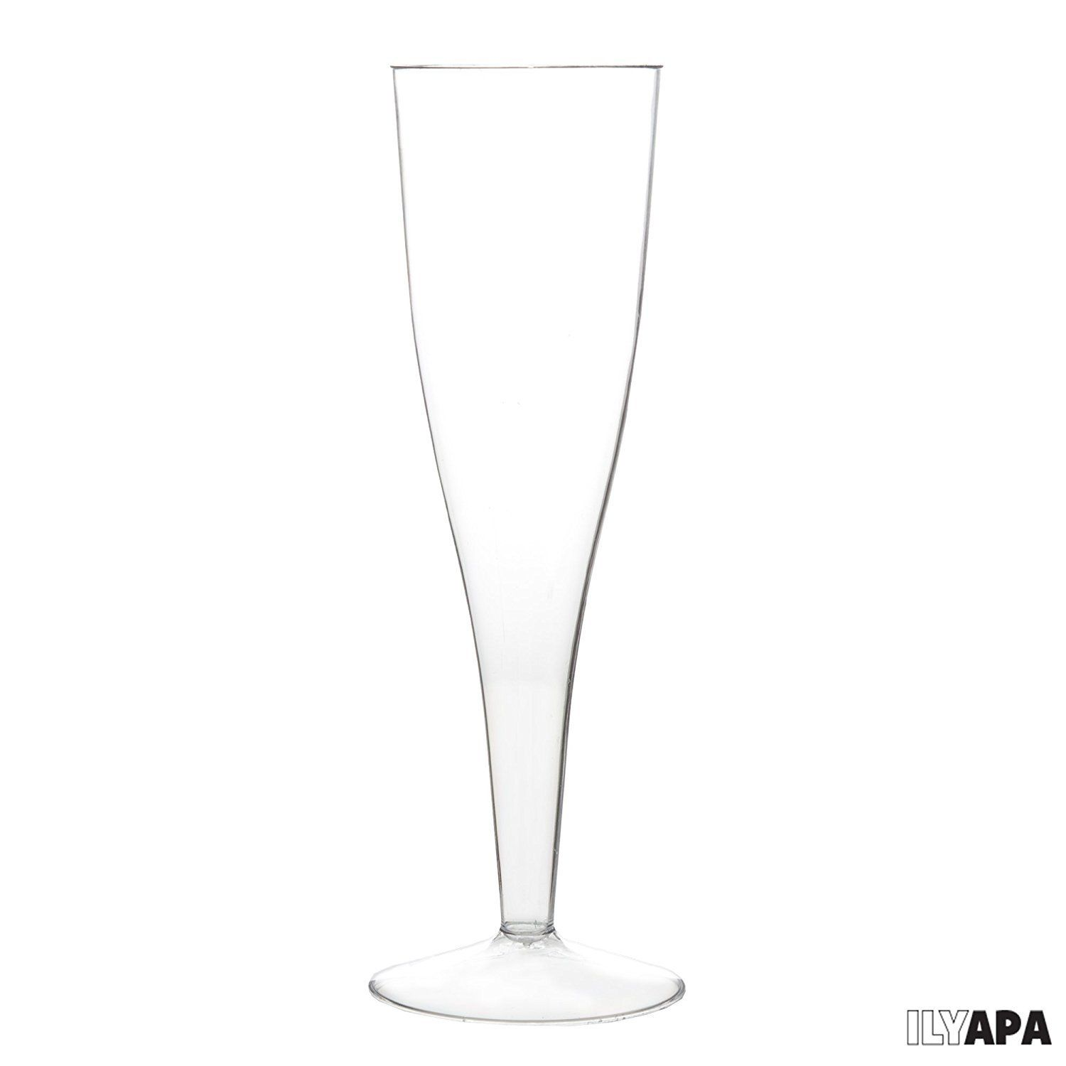 Bulk One Piece Plastic Champagne Flute Glasses For Wedding Or Party 72 To View Plastic Champagne Flutes Champagne Flute Glasses Disposable Champagne Flutes