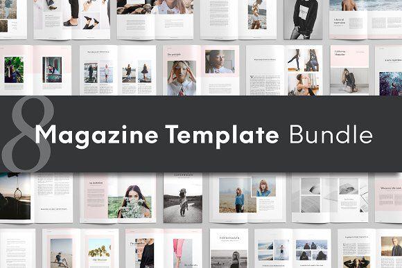 Magazine Bundle by Ruben Stom on @creativemarket