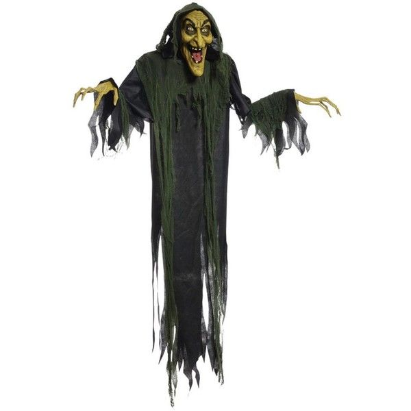 amazoncom hanging witch 72 inches animated halloween prop haunted