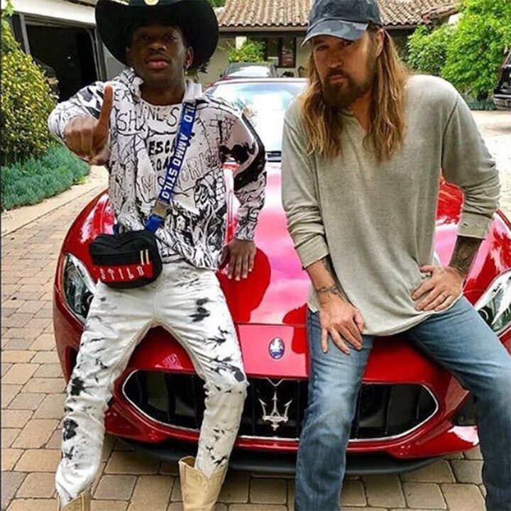 Lil Nas X gave his BFF Billy Ray Cyrus a Maserati because