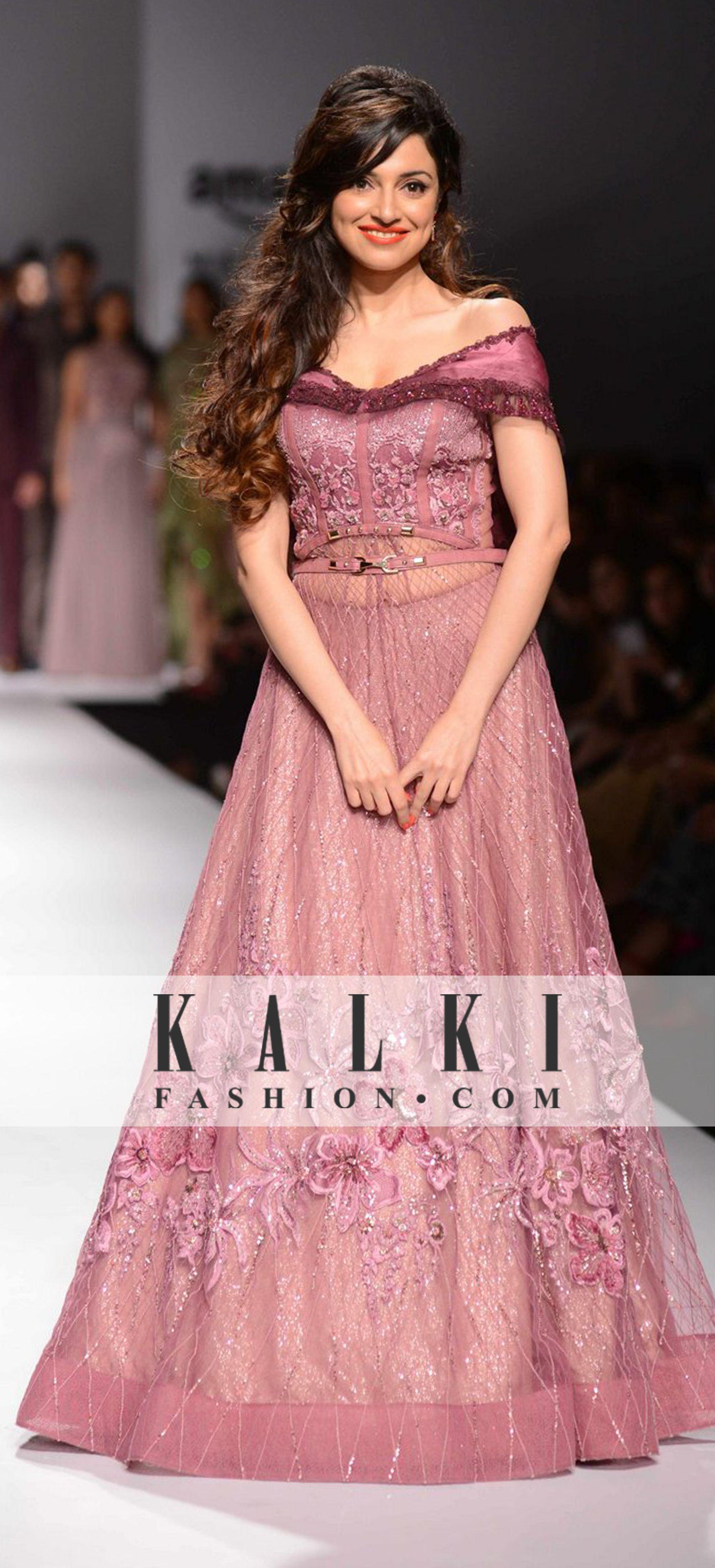 Divya khosal lehenga pinterest gowns indian wear and saree