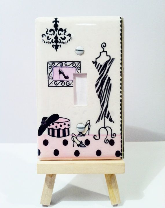 Adorable Decorative Light Switch Cover By