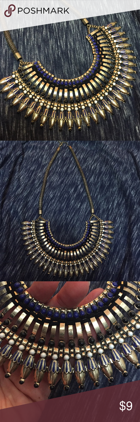 Tribal Necklace Worn once. No tarnishing. No trades. Forever 21 Jewelry Necklaces