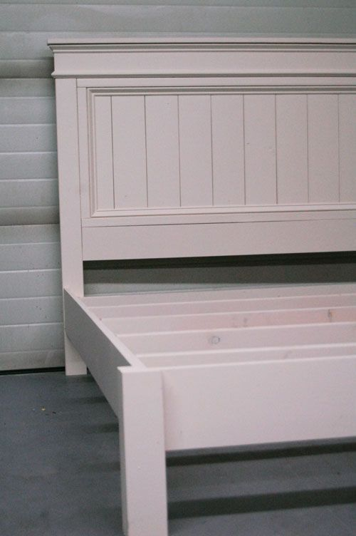 Ana White Build a Mom\u0027s Fancy Farmhouse Bed Free and Easy DIY