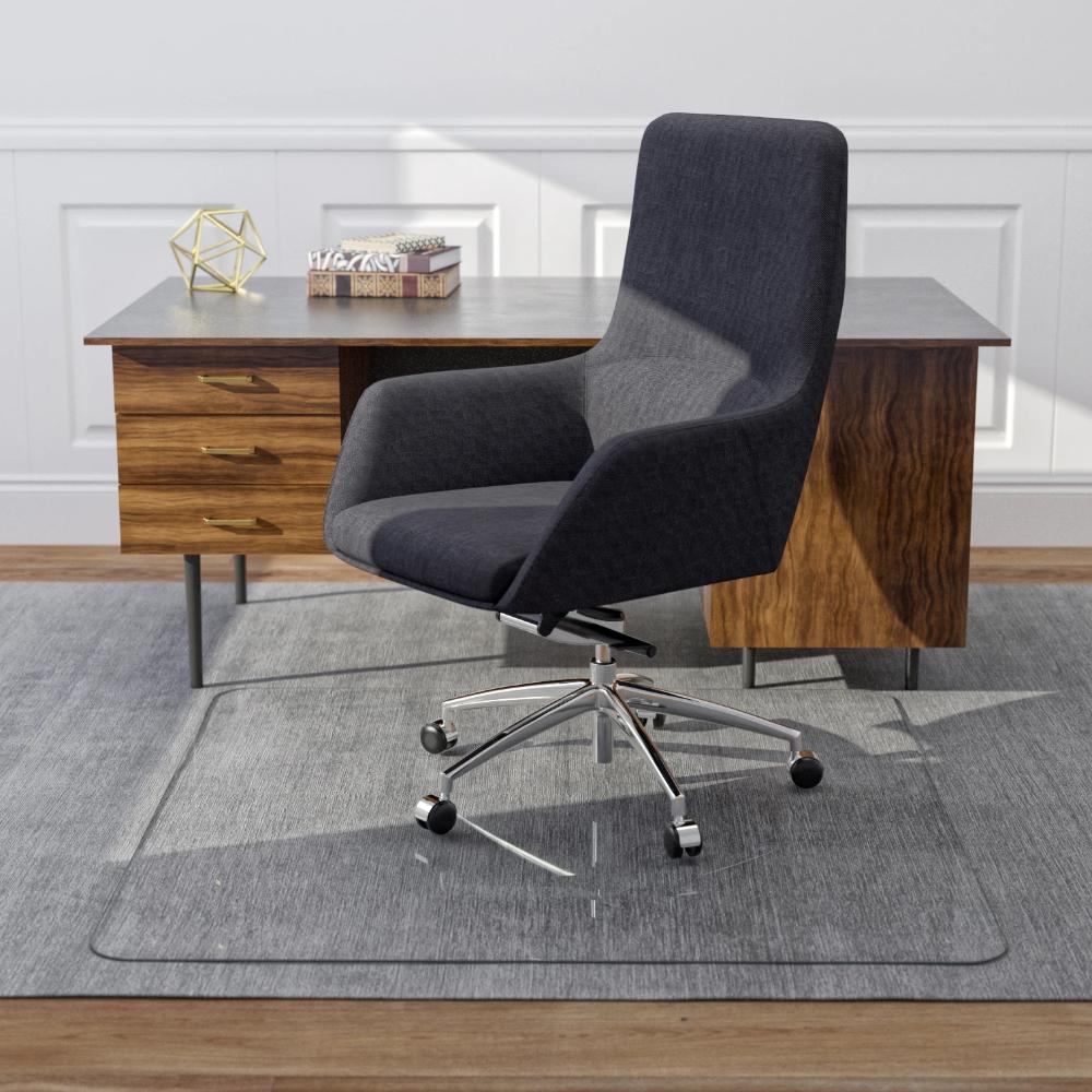 Glass Office Chair Mats Never Dent Mats By Vitrazza In 2020 Office Chair Mat Chair Mats Office Chair