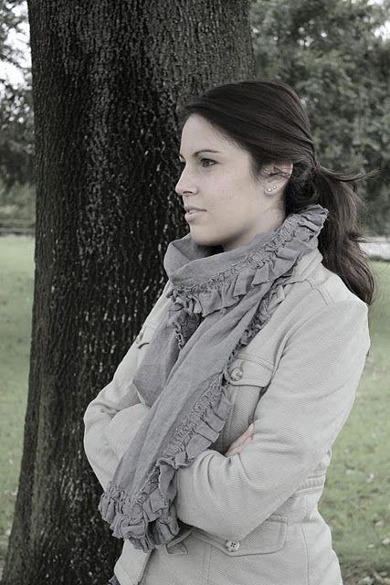 lovely linen scarf