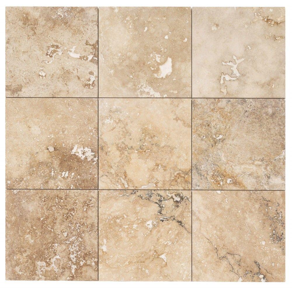 Chiaro Tile Backsplash: Travertine Tile - Honed And Filled