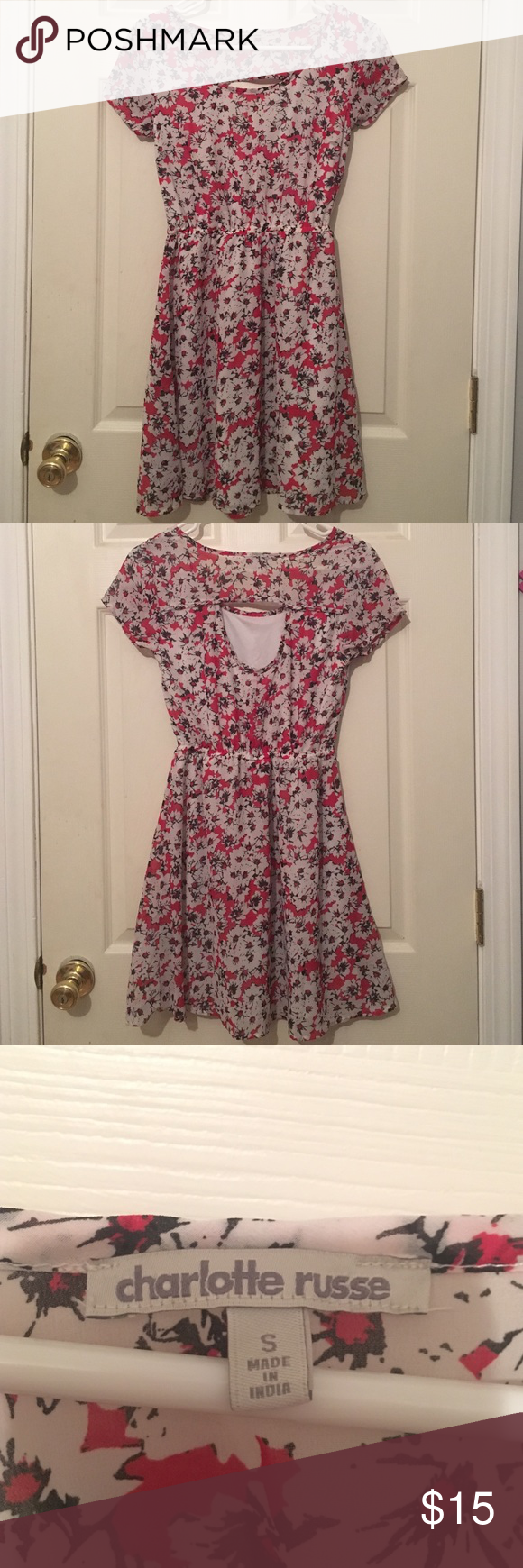 Floral Dress I'm very good condition. Gently Worn Charlotte Russe Dresses