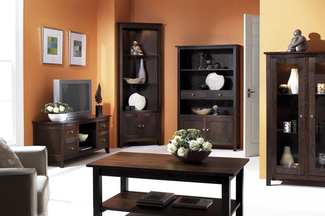 Muebles Oscuros Con Naranja Muebles De Madera Oscura Muebles Oscuros Muebles