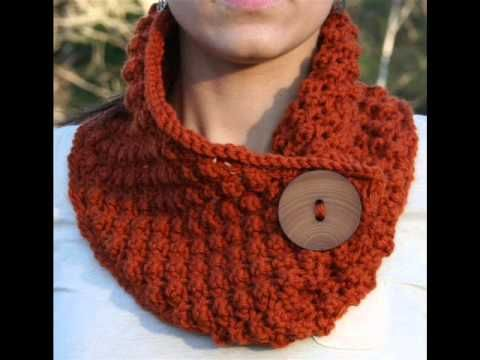 Episode 110: How To Crochet The Margaret Button Cowl - YouTube ...