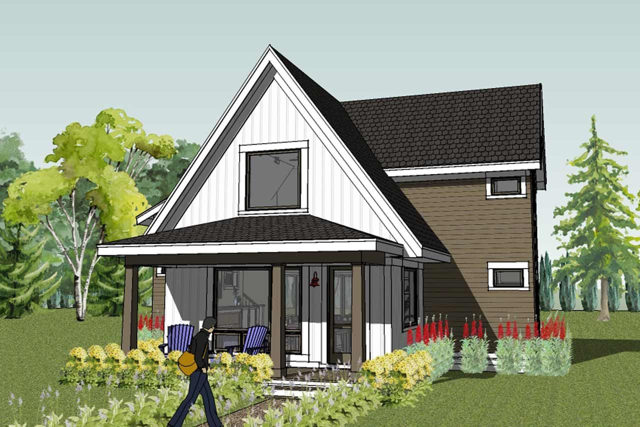 Modern farmhouse plans farmhouse plans farmhouse style for Farm house model
