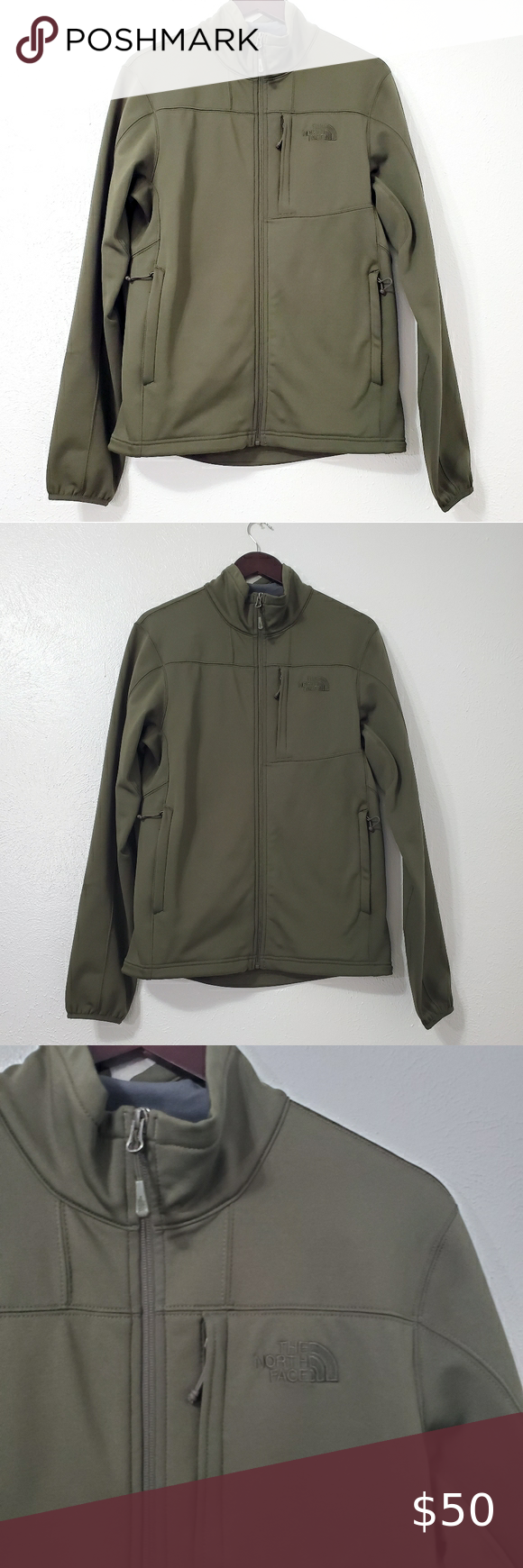 The North Face Men S Jacket Size Small North Face Jacket Mens North Face Mens Mens Olive Green Jacket [ 1740 x 580 Pixel ]