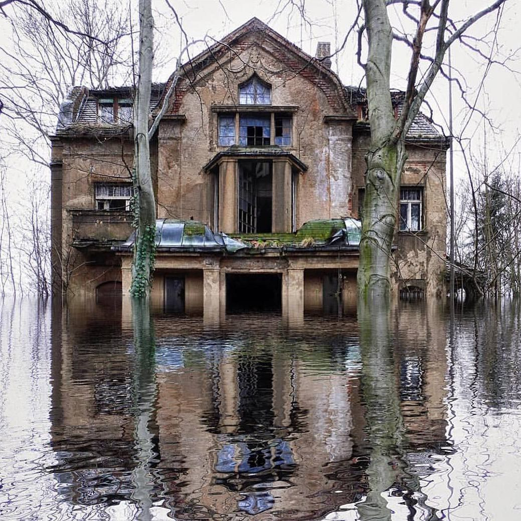 "Abandoned Places On Instagram: ""Flooded. ????: @axel"