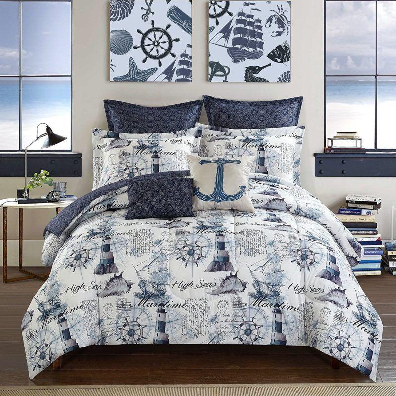 100 Best Seashell Bedding And Comforter Sets 2020 Beach Bedding
