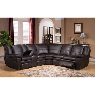 Hillrose Top Grain Dark Burgundy Leather Reclining Sectional Sofa Ping The Best Deals On Sofas