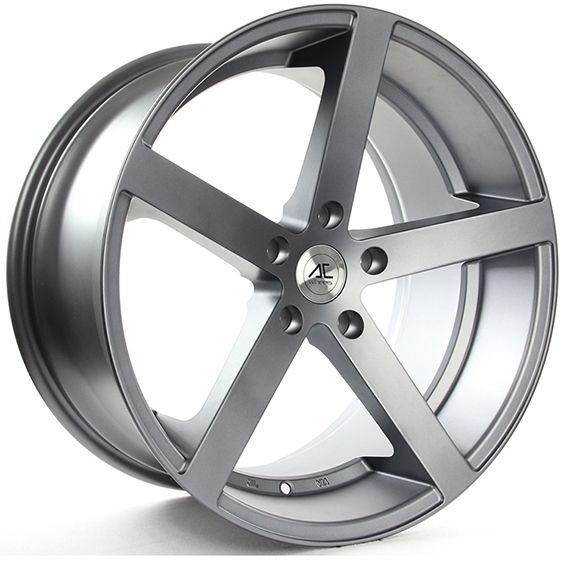 17 Ac Star 5 Matt Grey Alloy Wheels For 5 Studs Wheel Fitment In 8x17 Rim Size Wheel Alloy Wheel Custom Wheels Cars
