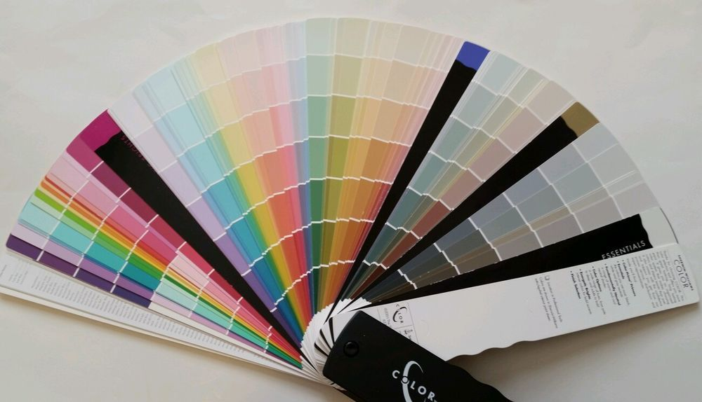 Sherwin Williams Color Paint Fan Deck Chips Interior Design Sample