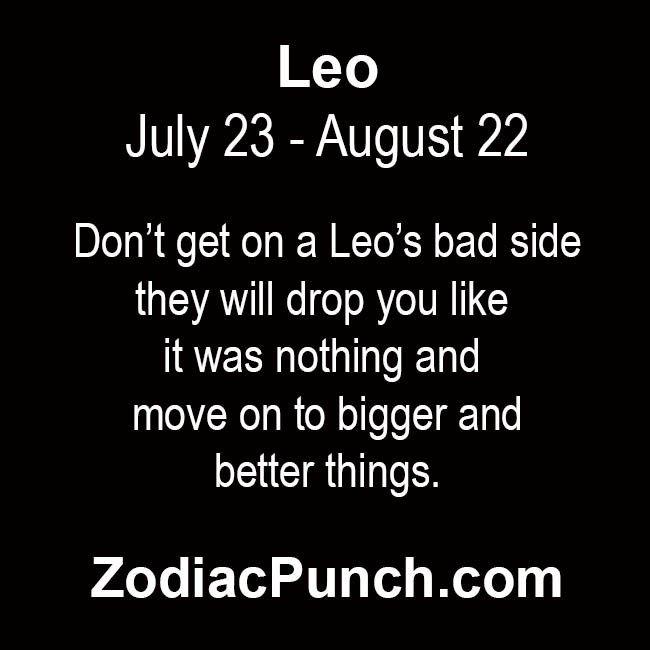 leo bad side | Leo! | Leo facts, Leo compatibility, Leo