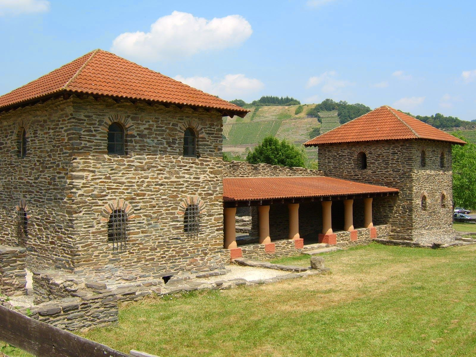 The Ancient Roman Villa Rustica In Mehring