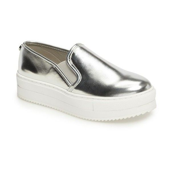 Women's Steve Madden Slick Platform Sneaker ($80) ❤ liked on Polyvore  featuring shoes,