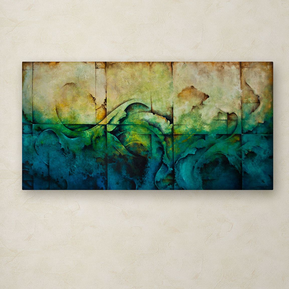 Trademark Fine Art 'Paradise' by Cody Hooper Painting Print on Wrapped Canvas