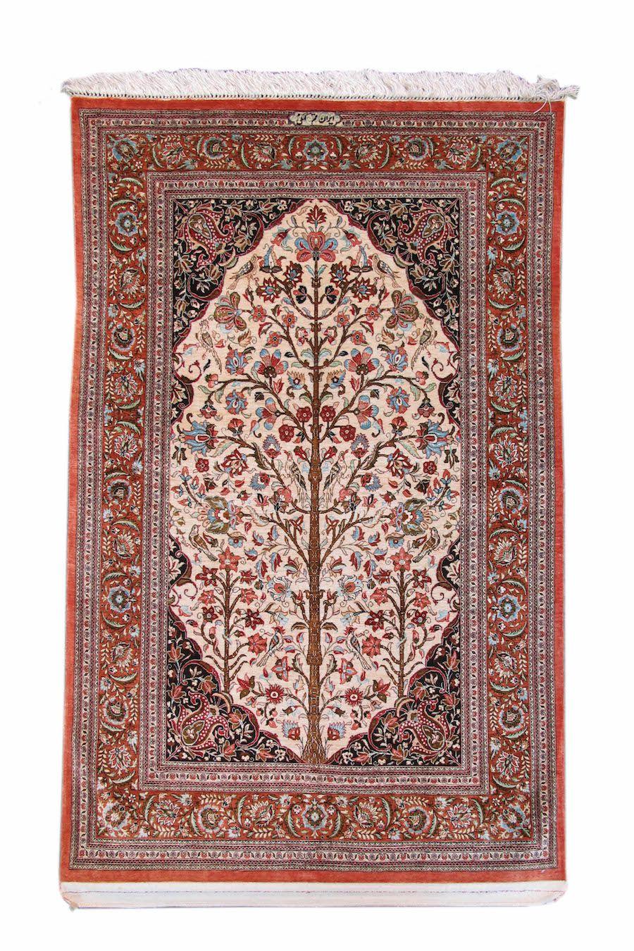 Silk Qum   Silk Qum Late 20th Century Persia