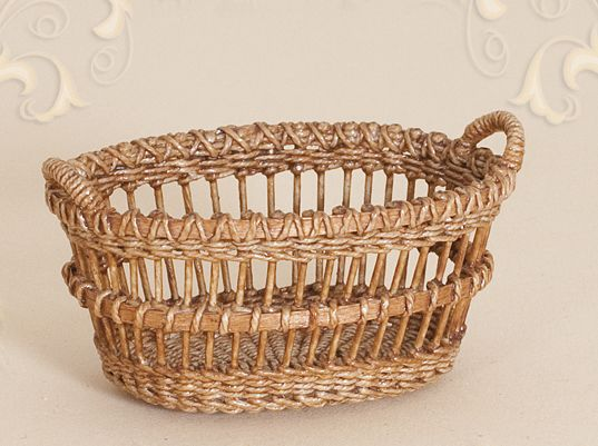 WC/209, wicker, laundry basket, scale 1 : 12, made by Will Werson.