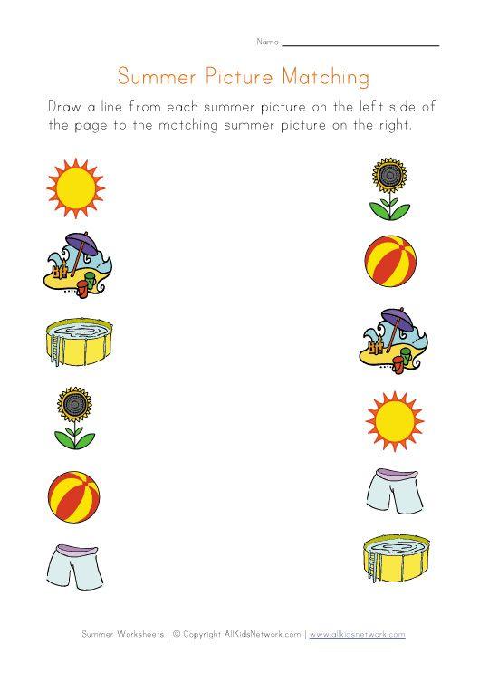 Preschool Printable Worksheets Seasons Worksheets Seasons Kindergarten Printable Preschool Worksheets