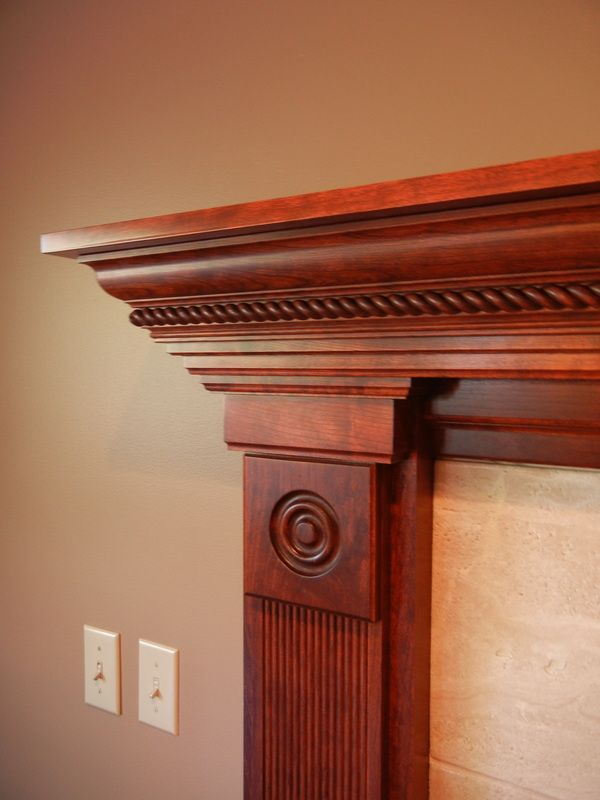 Fireplace Mantels Moldings And Trim Corner Wood Stove Modern Rustic Furniture