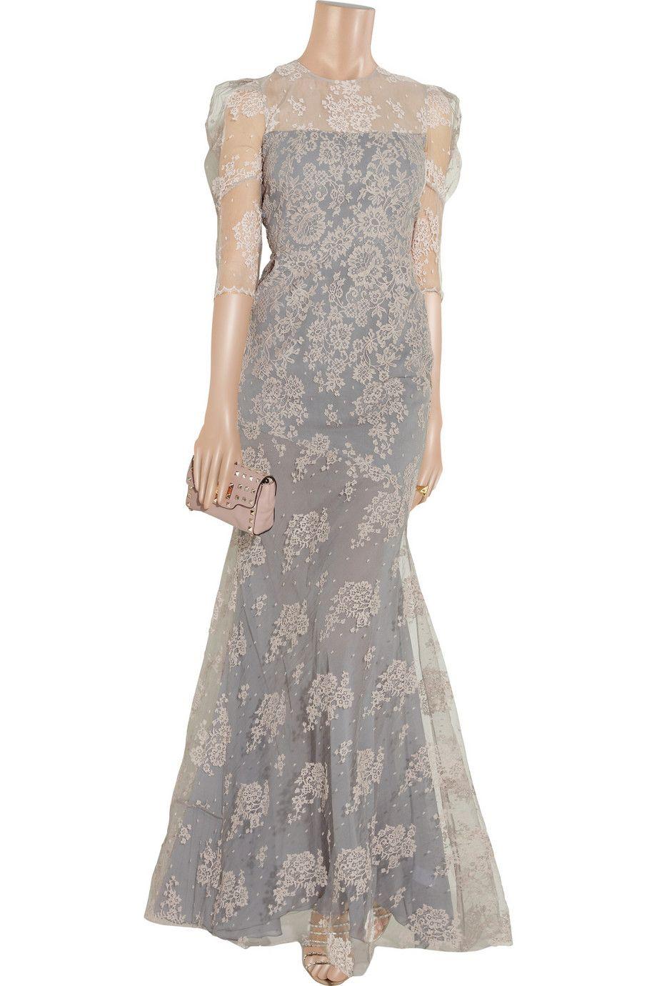 Pandora lace gown by erdem gowns pinterest designer dresses
