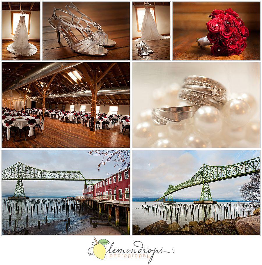 Red Building Loft Astoria Wedding Venues Oregon Photographer Coast