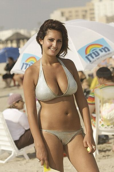 Excellent israel bikini gallery happens