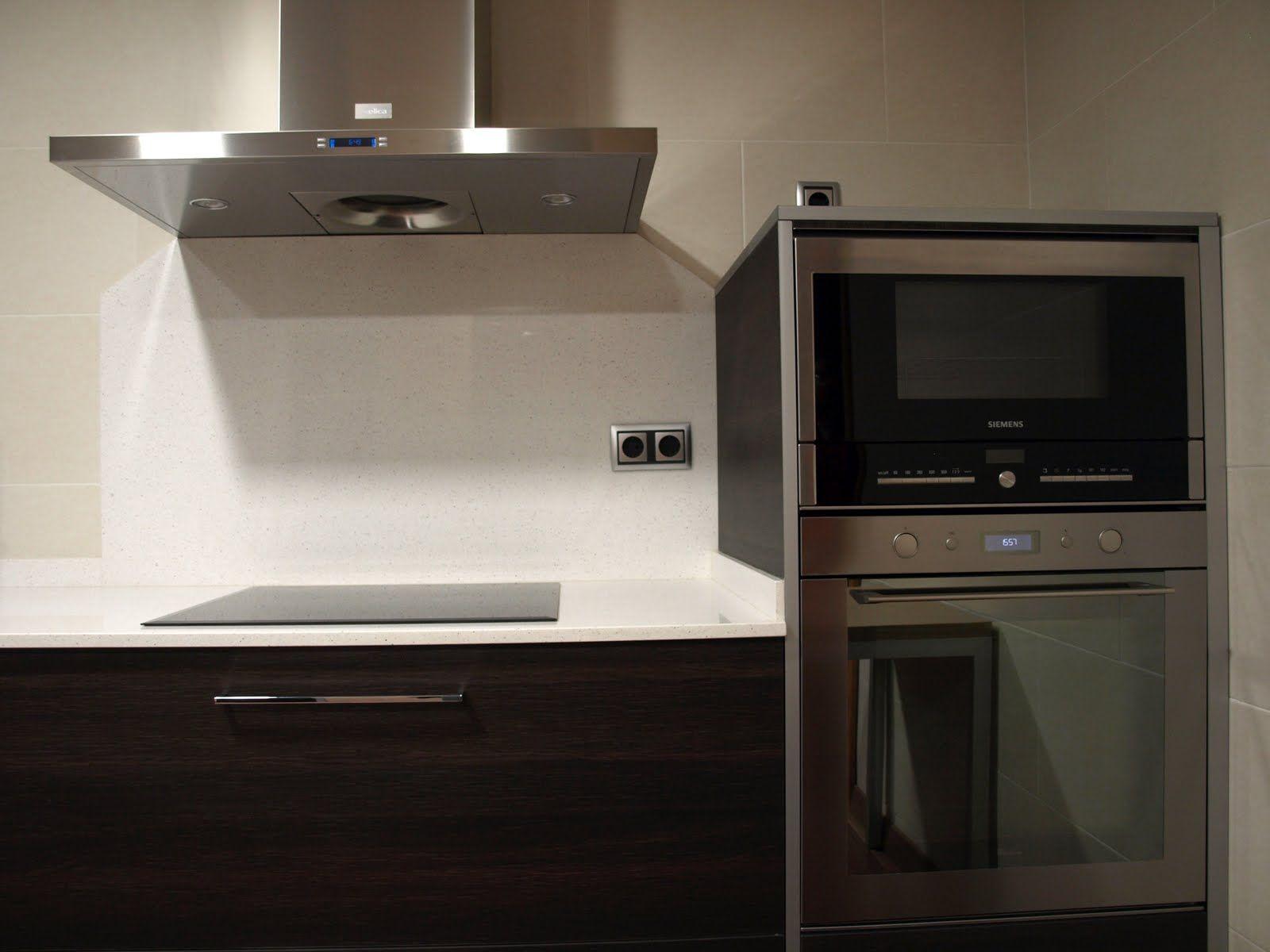 Cocinas con microondas integrado buscar con google - Microondas de diseno ...