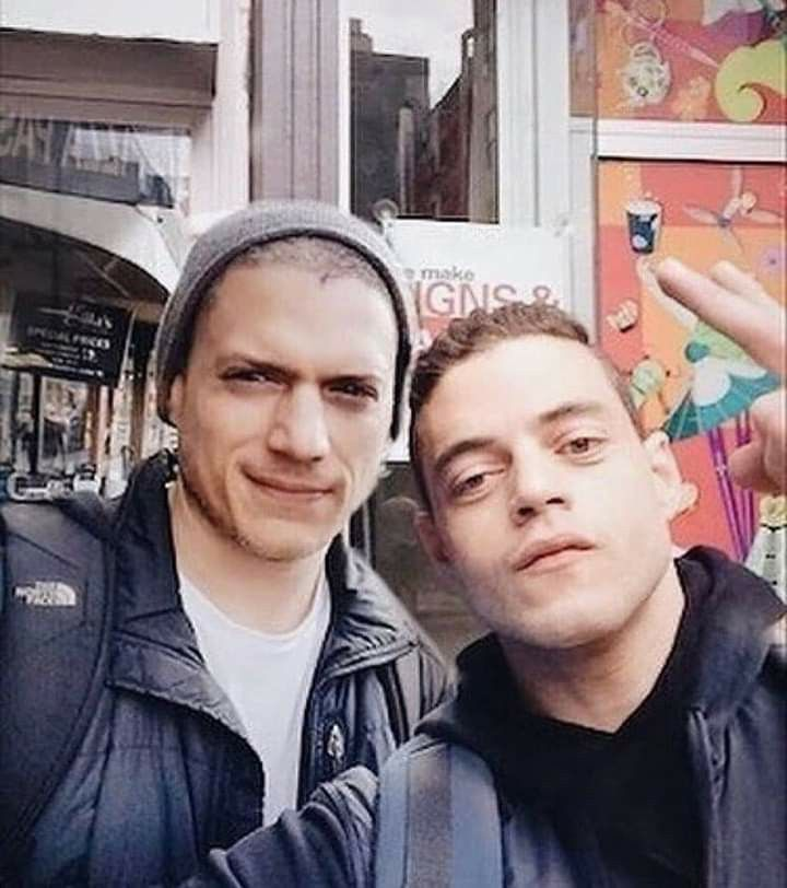 Wentworth And Rami Malek