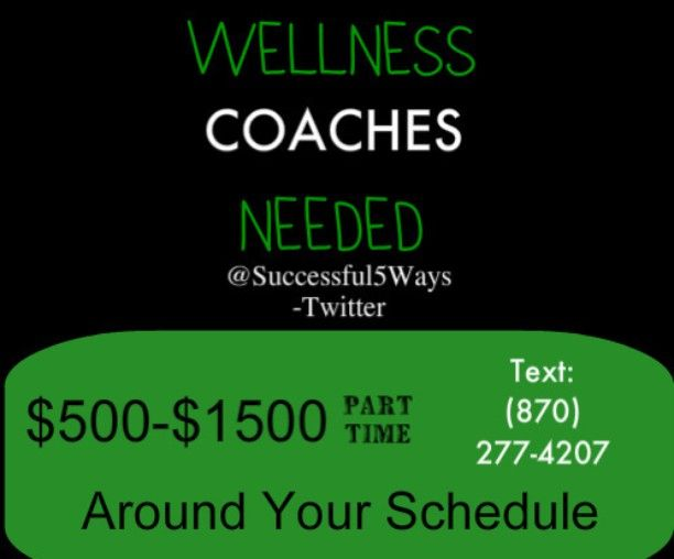 I need Wellness Coaches to Work From Home Get Started Today Internet