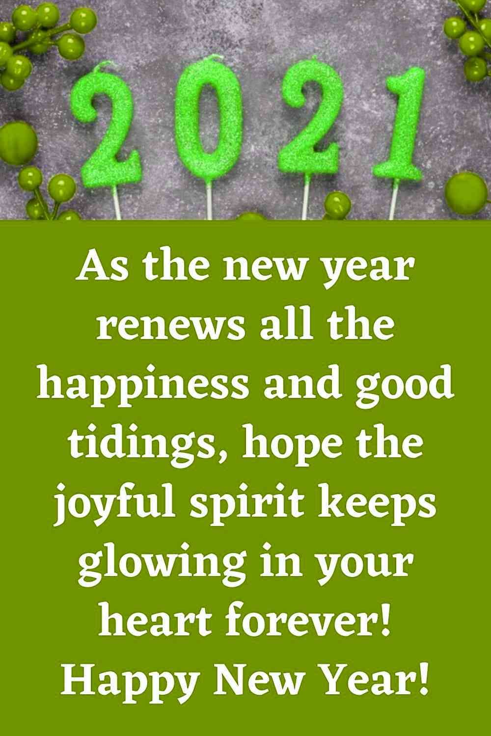 Wishing You A Happy New Year 2021 Wishes And Greetings Happy New Year Sms Happy New Happy New Year Quotes