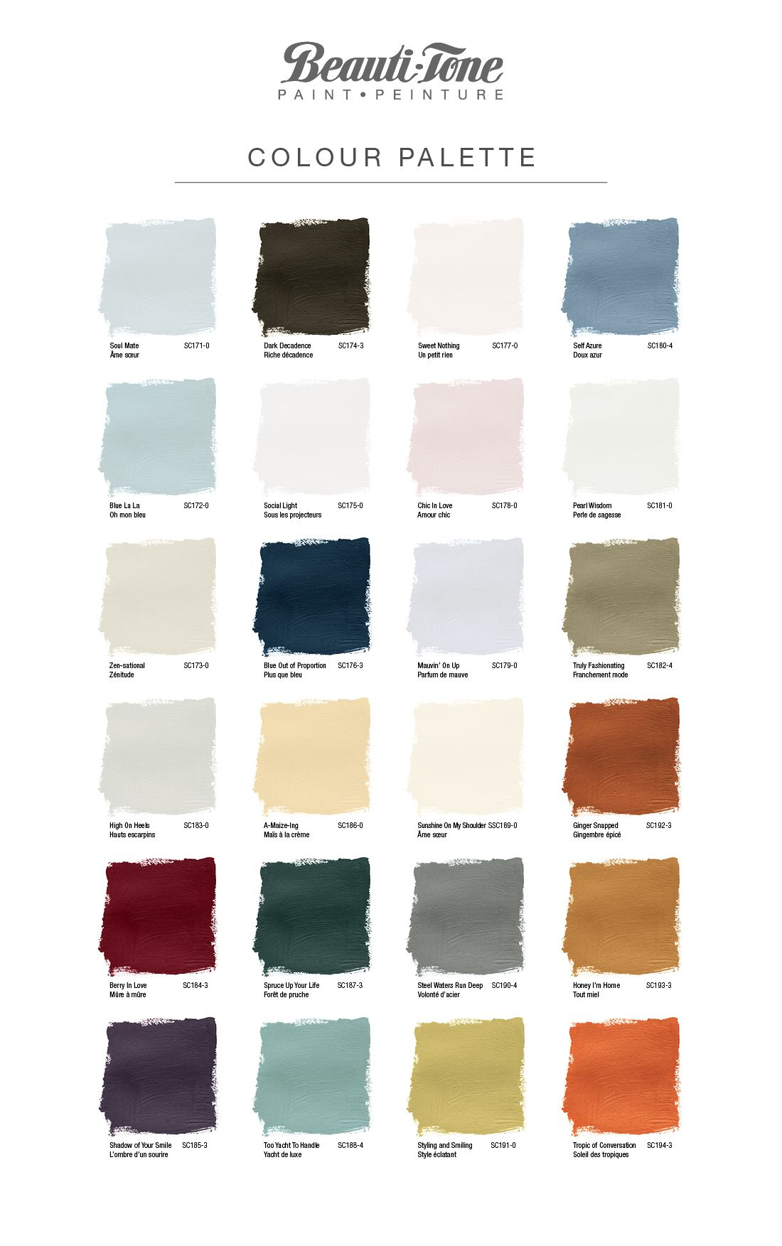 Simon Chang Trend Colour Collection Home Hardware In 2019