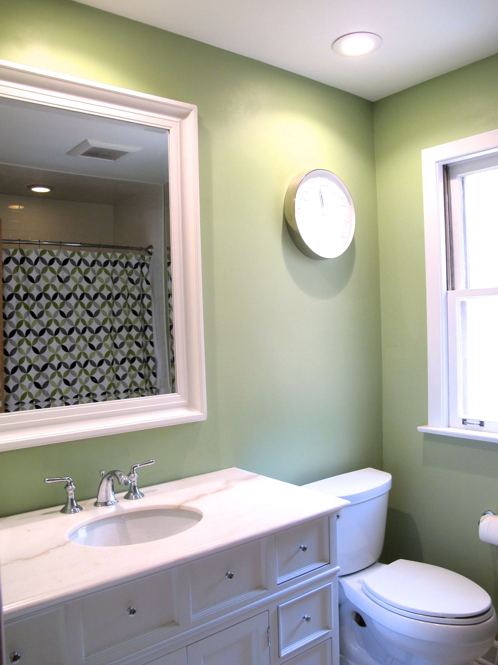 Crabtree Bath Sherwin Williams Recycled Glass Sherwin Williams Paint Colors Room Paint Colors Sherwin Williams Green Bathroom Paint